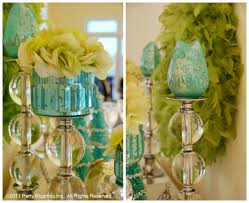 Blue And Green Decor Cool Blue And Green Christmas Table