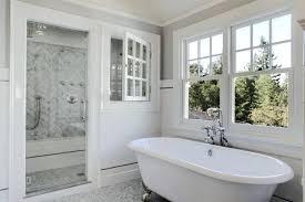 walk in shower with window tub shower window bathroom traditional with soaking tub white air bathtubs