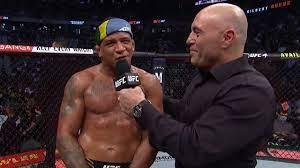 UFC 264: Gilbert Burns Octagon ...