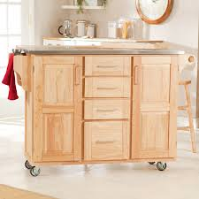 Wooden Storage Cabinets With Doors Furniture Fantastic White Stained Kitchen Cart One Door Storage