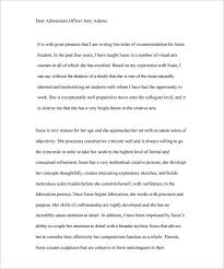 Letter Of Recommendation Student 10 Letter Of Recommendation For Student Pdf Doc Free Premium