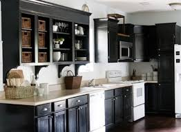 kitchens with painted black cabinets. Wonderful Kitchens Paint Or Reface Kitchen Cabinets Intended Kitchens With Painted Black Cabinets T