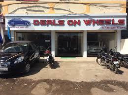 front view of second hand car showroom deals on wheels kasturi cars photos vijay