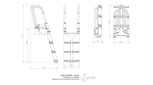 Diving Ladder Design Dive Ladder