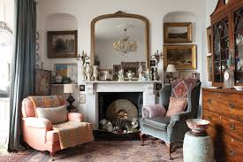 Period Living Room Drawing Room With Antiques Period Living