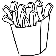 french fries clipart black and white.  Clipart Jpg Royalty Free Box Food Icons Icon Clip Black And White Library French  Fries Clipart  With Fries Clipart Black And White A