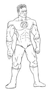 Small Picture Green Lantern Coloring Pages To Print Archives Within Green