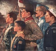 Image result for norman rockwell patriotism