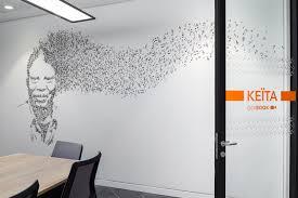 office wallpaper design. Environmental Graphic Design - LinkedIn\u0027s EMEA HQ Office, Dublin Seek Office Wallpaper