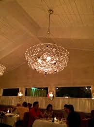 ways means oysters chandelier