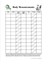 Printable Body Measurement Chart Pdf Free Printable Body Measurement Chart Jasonkellyphoto Co