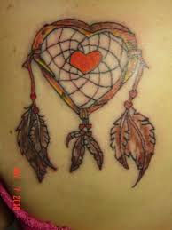 Heart Dream Catcher Tattoo Heart Vine dreamcatcher Tattoo Picture at CheckoutMyInk 73