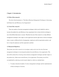 Examples of Proposals in PDF