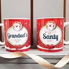 grandad s mug waiting to see what santy brings