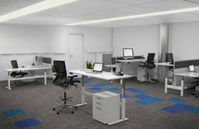 office workstations desks. Axis_HeightAdjustableDesks_OfficeLayout Workstation Design: 5 Inspiring Office Layout Examples Future Of Work. Standing Desks Workstations N