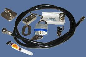 9mm pc and tft monitor security cable kit screws and glue this 9mm x 1500mm long security cable kit allows you to secure a computer and a tft monitor to an anchor point the cable can be secured by a loop