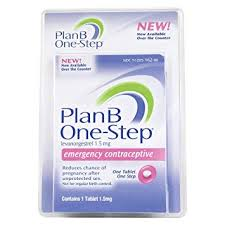 Birth Control With Plan B Plan B One Step Emergency Contraceptive Tablet 1 Tablet Pack Of 2