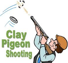 Image result for clay pigeon shooting cartoon