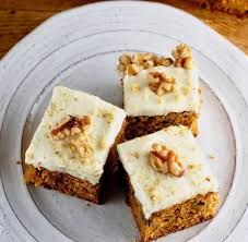 Easy Carrot Cake Bars Soft And Moist Easy To Make Carrot Cake Bars