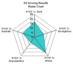 5s Radar Chart Template 5s Radar Chart Radar Chart Lean Six Sigma Lean Project