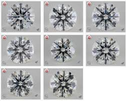 Side By Side Diamond Color Comparisons With Detailed Photos