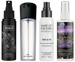 makeup fixing spray
