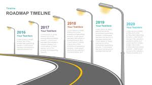 Road Map Powerpoint Timeline Roadmap Powerpoint Template And Keynote Slide Slidebazaar
