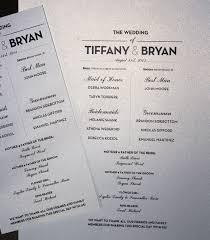 21 Wedding Program Templates Free Sample Example Format Program Card