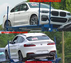 2018 bmw x4. fine bmw 2018 bmw x4 spotted undisguised m40d confirmed on bmw x4