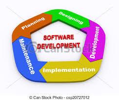 3d Circle Arrow Chart Software Development