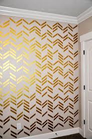 41pcs set free wallpaper wall decals gold herringbone scheme of chevron wall decals