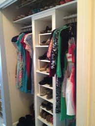 extraordinary ikea walk in closet design with elegant pine clothes rack and iron interior ideas