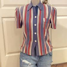 Vintage Polly Pierce Tops | Vtg 40s Polly Pierce Cottage Core Distressed  Top | Poshmark