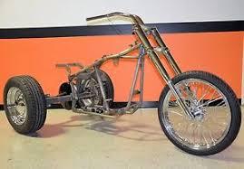 custom trike softail bobber chopper frame rolling chassis roller