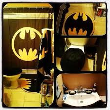 Batman Bathroom Decor For Kidsoffice And Bedroom