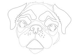 pug stencil 590sm102412 go wild with these animal pumpkin carving stencils on pumpkin template ghost