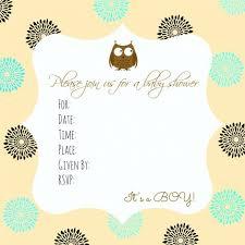 Baby Shower Invitations Extraordinary Owl Baby Shower Invitations Owl Baby Shower Invitations For Boy