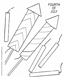 Small Picture July 4th Coloring Pages 4th of July fireworks coloring page