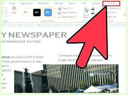 Newspaper Article Template Free Online Free Newspaper Template Sample Online News Website Download