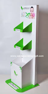 high quality cardboard display stands for makeup cosmetics displays with your logo manufacturers and suppliers china factory jiechuang display