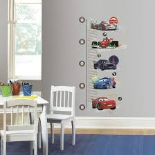 Wall Decal Size Chart Cars 2 Peel And Stick Metric Growth Chart Wall Decals