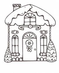 Gingerbread House Coloring Pages New Characters Gingerbread 568
