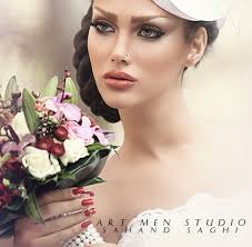 persian wedding makeup gallery