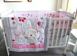 baby crib bedding sets girl cartoon appliqued baby cot crib bedding set for girls comforter quilt