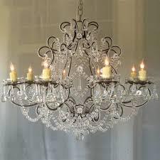 lamp chandelier shabby chic