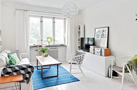 ... The area rug is a nice way to add color to a minimalist dcor ...