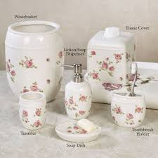 Floral Bathroom Accessories