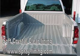 Clear Spray Bed Liner and Auto Body Protection