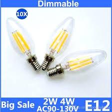 e12 led light bulb big clear glass led filament bulb lamp lights led lights indoor lighting for chandelier outdoor led light bulbs led e12 led light