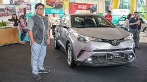QUICK LOOK: Toyota C-HR in Malaysia - exterior and interior - YouTube